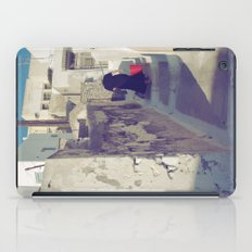 Streets of Santorini IV iPad Case