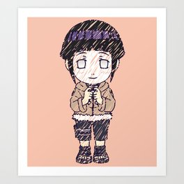 Hinata-Chan Art Print