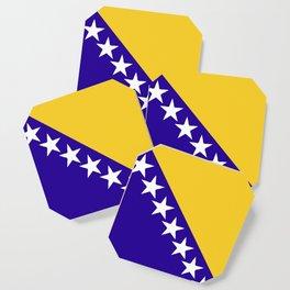 Bosnia and Herzegovina flag emblem Coaster