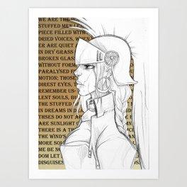 Hollow Britannia Art Print