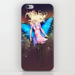 Butterfly Alice iPhone Skin