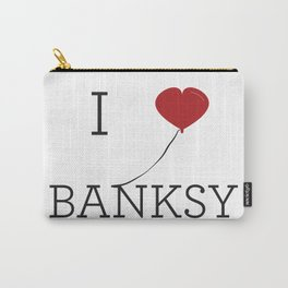 I heart Banksy Carry-All Pouch