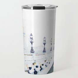Pont Alexandre III Paris Bridge Watercolor Travel Mug