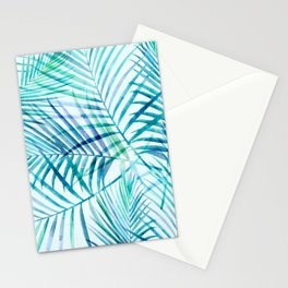 Tropical Palm Pattern Stationery Cards