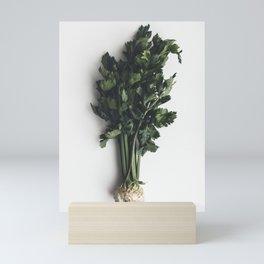 Wonderful healthy celery Mini Art Print