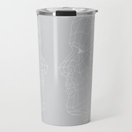 Selfie Gray Travel Mug