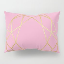 Golden diamond I Pillow Sham