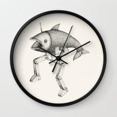 'Evolution I' Wall Clock