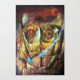 Rebel C3Po painting Canvas Print