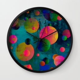 A Walk Away Wall Clock