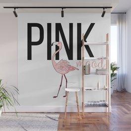 Pink mood Wall Mural