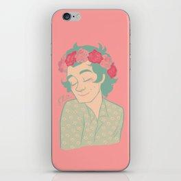 Flower Crown iPhone Skin