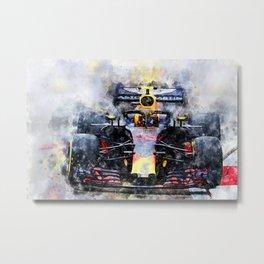 Max Verstappen No.33 Metal Print
