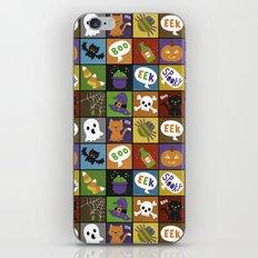 Halloween Doodles iPhone & iPod Skin