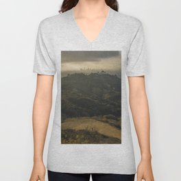 Griffith Observatory Unisex V-Neck