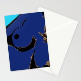 Recline in Blue Stationery Cards
