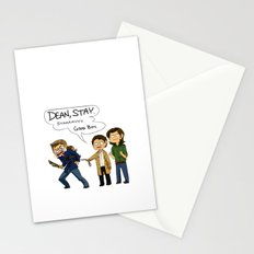 FATHER OF MURDER, JR. Stationery Cards