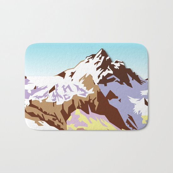 Night Mountains No. 49 Bath Mat