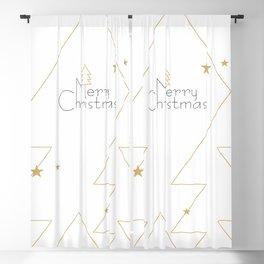 Merry Christmas #society6 #decor #buyart Blackout Curtain