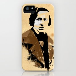 Frederic Chopin - Polish Composer, Pianist iPhone Case