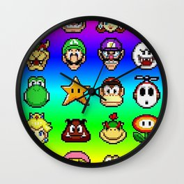 Friends Wall Clock