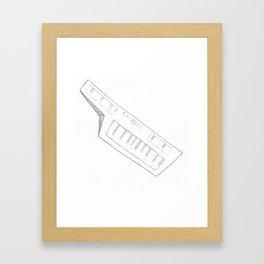 the keys Framed Art Print