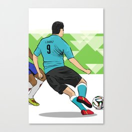 Luis Suarez, World Cup 2014 Canvas Print