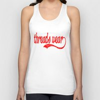 league Tank Tops featuring League Style  by Threads Wear