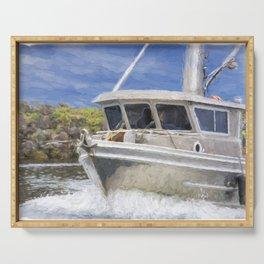 Fisherman's Prayer - West Coast Art Serving Tray