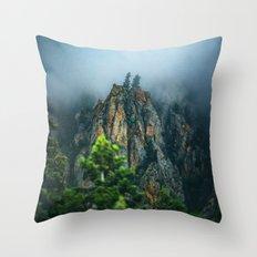 Wasatch Mountains, No. 2 Throw Pillow