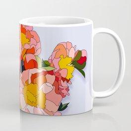 Peony Blooms Coffee Mug