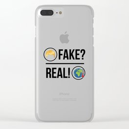 Global Warming is Real! Clear iPhone Case