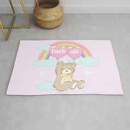 F*ck Off Teddy Bear Rug