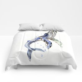 Humpback Whale Comforters