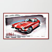 sports Canvas Prints featuring Italian Sports by elkart51