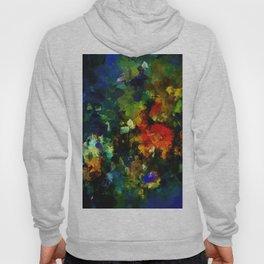 Dark Abstract Painting Hoody