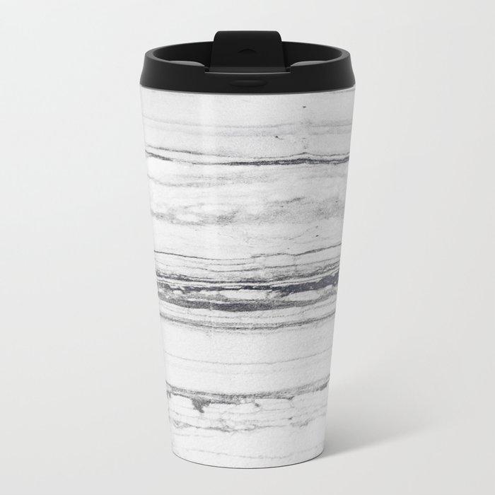Rare marble Metal Travel Mug