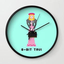 8 Bit Tavi Wall Clock