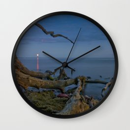 Branched Seascape Wall Clock