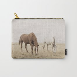 Open Country Horse Photograph Carry-All Pouch
