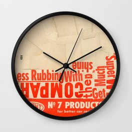 Less rubbing with DuPont Wall Clock