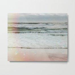 Beach Bubbles Metal Print