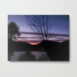 Perfect End Metal Print