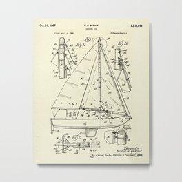 Sailing Rig 01-1967 Metal Print