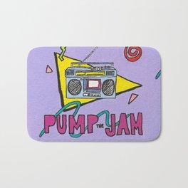 pump the jam Bath Mat