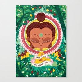 BUDDAH Canvas Print