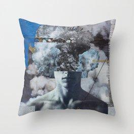 Blew My Mind Throw Pillow