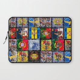 Portuguese art quilt design Laptop Sleeve