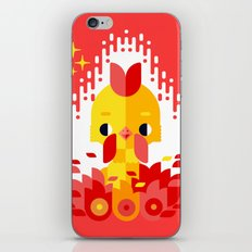 Year of the Rooster iPhone & iPod Skin