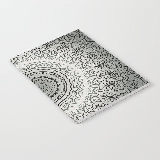 Grey Mandala Notebook